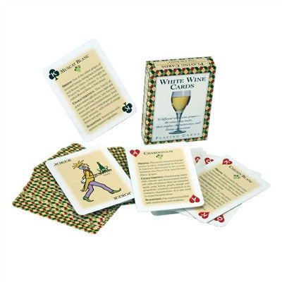 Wine Playing Cards , Red, White, or Both