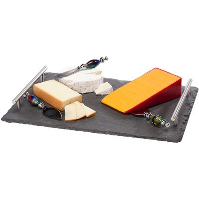 Slate Large Cheese Board W/ Handles