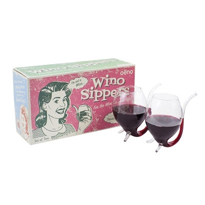 Wino Sippers, Set Of 2