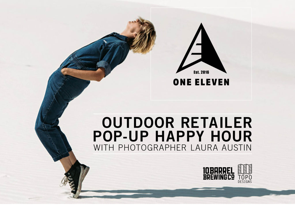 Topo Designs Pop-Up Happy Hour