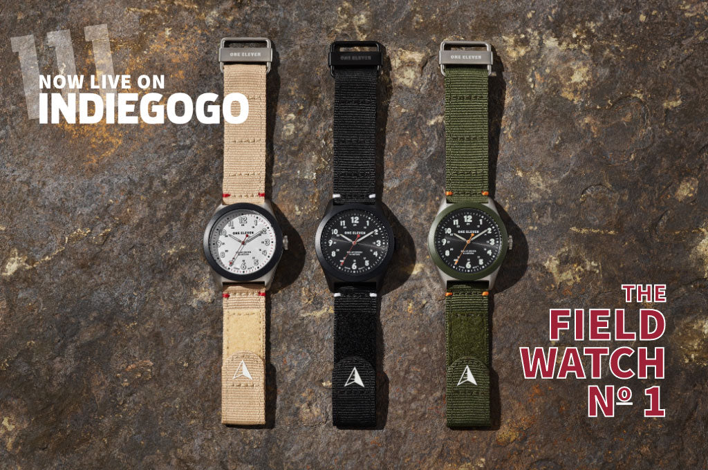 FIELD WATCH LAUNCHING ON INDIEGOGO