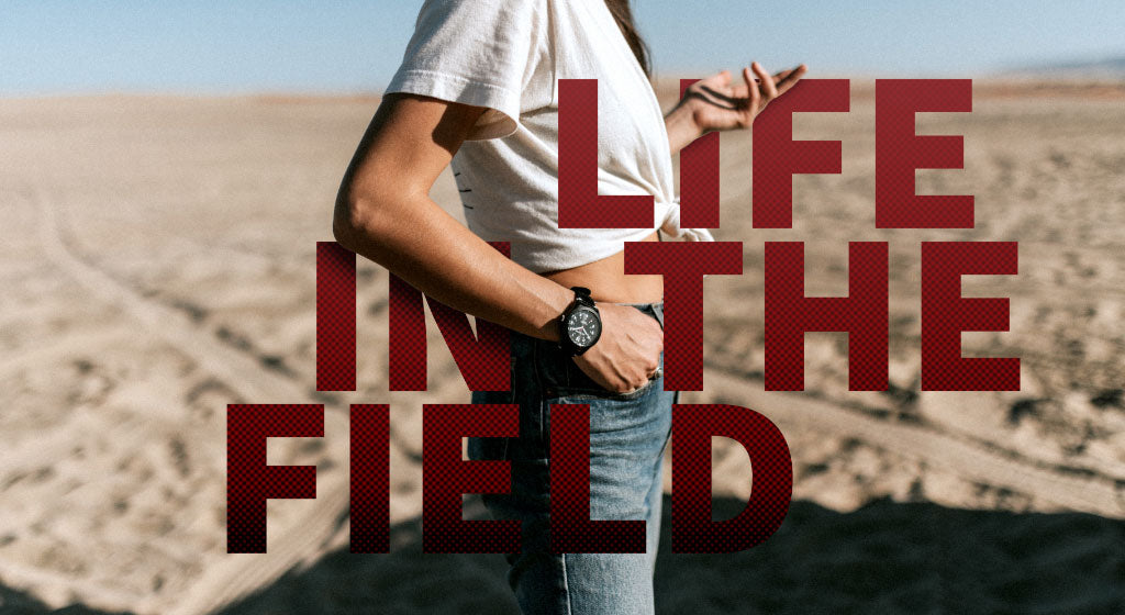 Life in the field with the One Eleven Field Watch No. 1