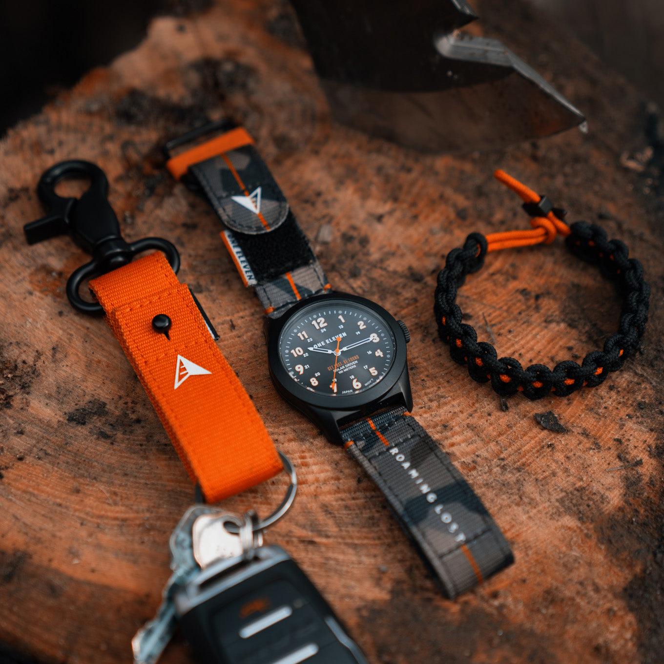 One Eleven x Roaming Lost Field Watch Set