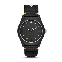 SWII Solar Three-Hand Black rPet Watch