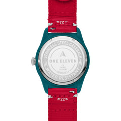 SWII Solar Three-Hand Red rPet Watch