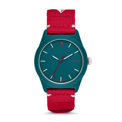SWII Solar Three-Hand Teal rPet Watch
