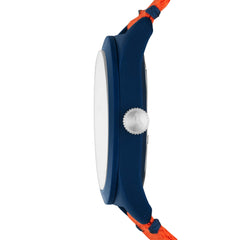 SWII Solar Three-Hand Orange rPet Watch