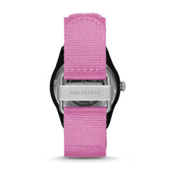 SWII Solar Three-Hand Pink rPet Watch