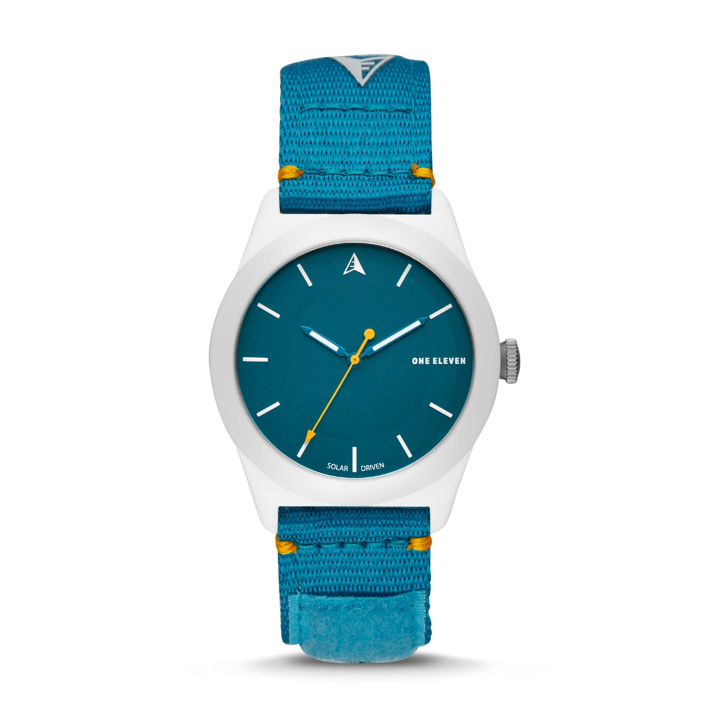 SWII Solar Three-Hand Blue rPet Watch
