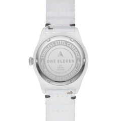 SWII Solar Three-Hand White rPet Watch