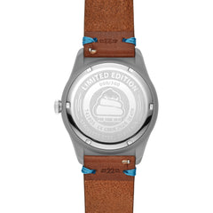 SWII Solar DGS Three-Hand Limited Edition Leather Watch