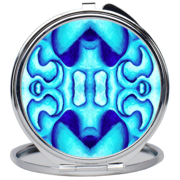 """Blue Dream"" Compact Mirror"
