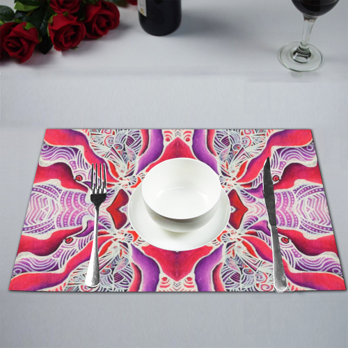"""Beautifly"" Placemat 12'' x 18'' (Four Pieces)"
