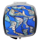 """Blue Seas"" Compact Mirror"