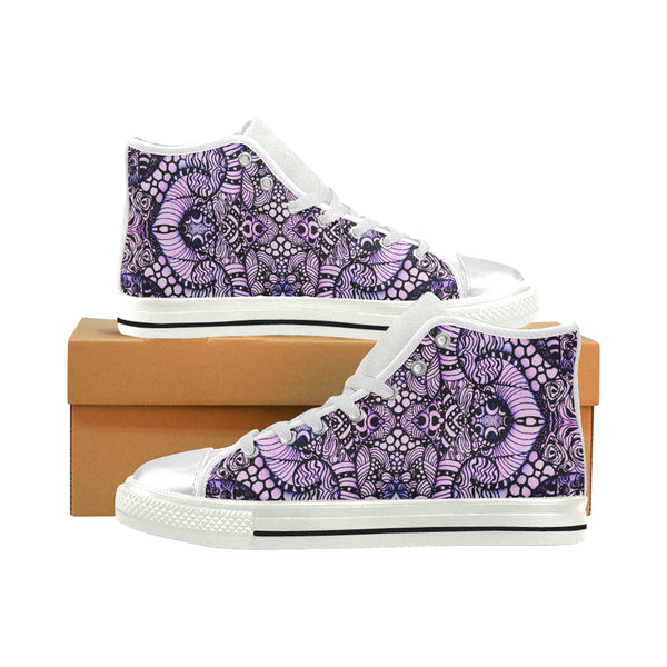 """Manninghq"" Classic Women's High Top Canvas Shoes"