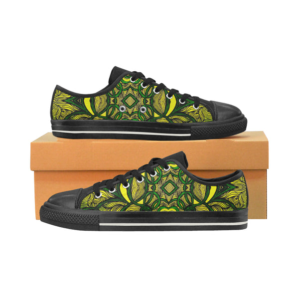 """Jamvibes"" Low Top Canvas Shoes for Kids"