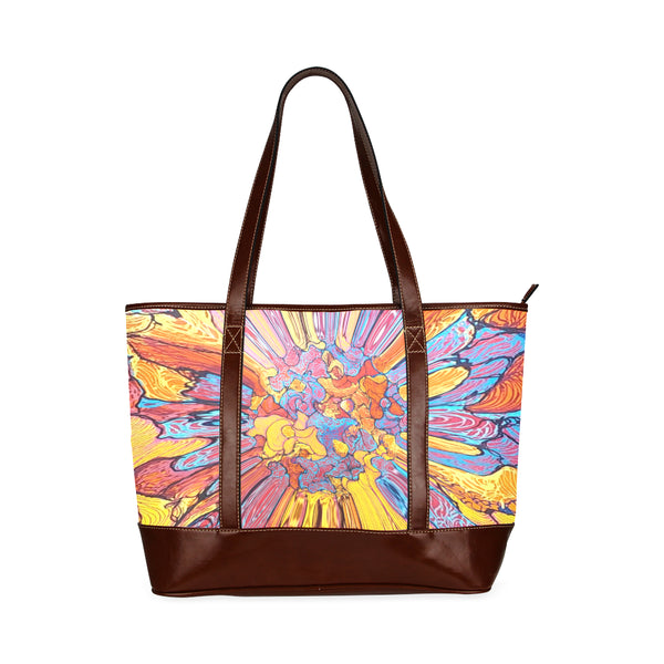 """Flowers"" Tote Handbags"
