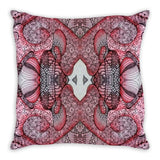 """Ruby"" Throw Pillows"