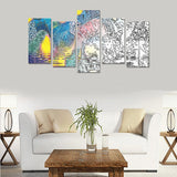 """Martian River"" Canvas Print Sets E (No Frame)"