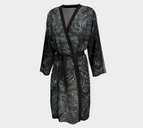 """Black Ice"" Peignoir Robe"
