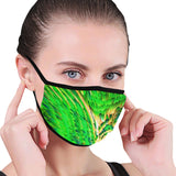"""Aura"" Green Mouth Mask with Ear Loop (Non-Medical)"