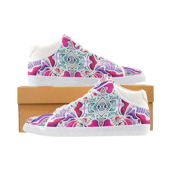 """Beautifly"" Women's Chukka Canvas Shoes"