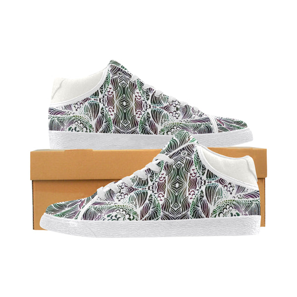 """Mysterious Ways"" Women's Chukka Canvas Shoes"