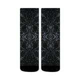 """Black Ice"" Crew Socks"