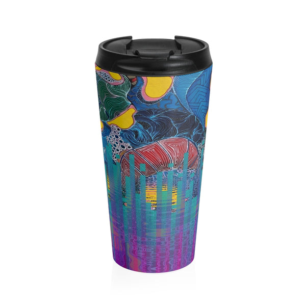 """Loco"" Stainless Steel Travel Mugs"