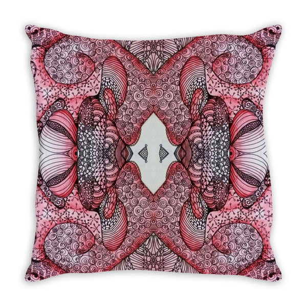 """Ruby"" Throw Pillow"
