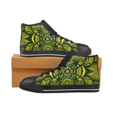 """Jamvibes"" Women's Classic High Top Canvas Shoes"