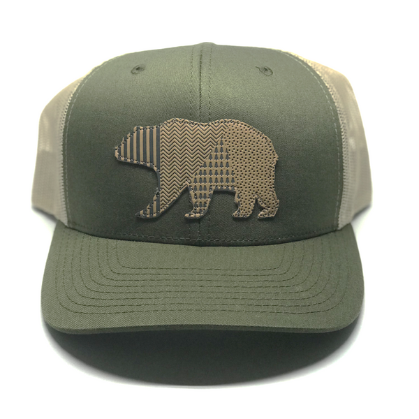 Bear - Moss/Khaki Mesh - Skye Mountain Co.