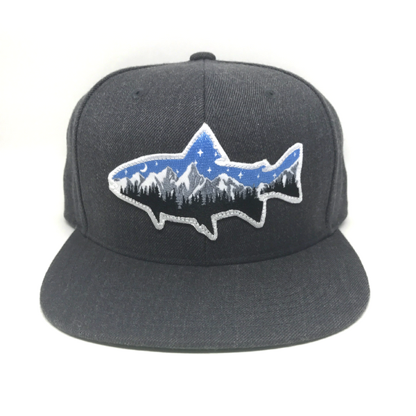 Night Fish - Dark Heather Gray - Skye Mountain Co.