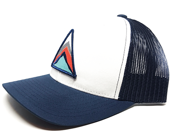 Four Peaks - Navy/White/Navy Mesh - Skye Mountain Co.