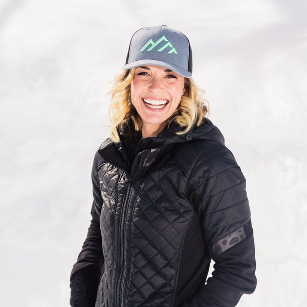 Skye Mountain - Mint Green logo (Curved) - Skye Mountain Co.
