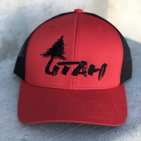 Lone Tree - Red/Black Mesh - Skye Mountain Co.