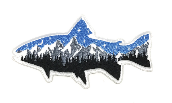 Night Fish Patch - Skye Mountain Co.