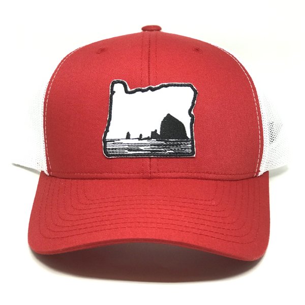 Oregon - Red Curved - Skye Mountain Co.