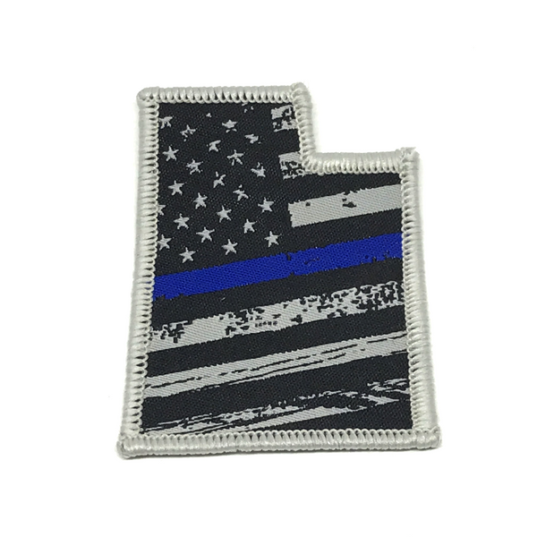 Utah Blue Line Flag Patch - Skye Mountain Co.