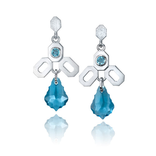 Melting Glacier Earrings