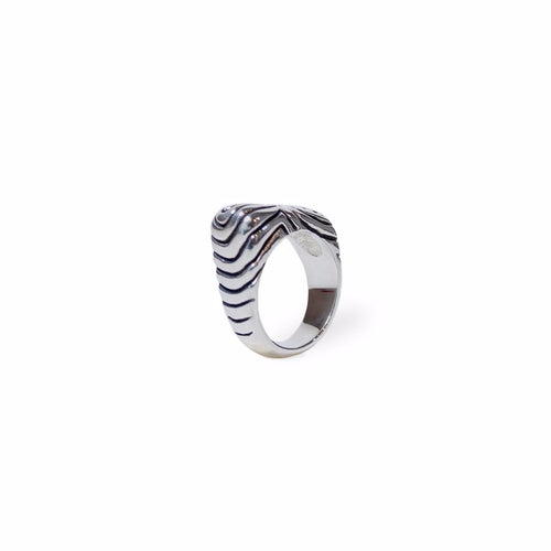 Waves Ring - Black