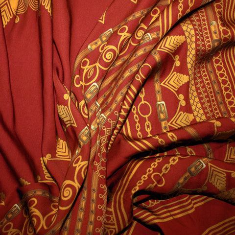 Red Angelina Dashiki Print Inspired African Print