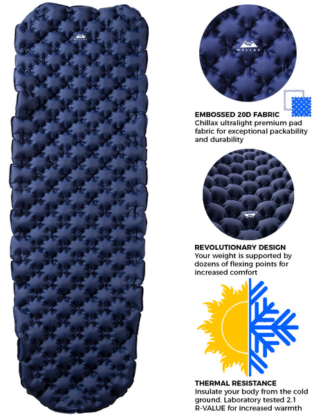 Inflatable Sleeping Pad - UPC655295427003