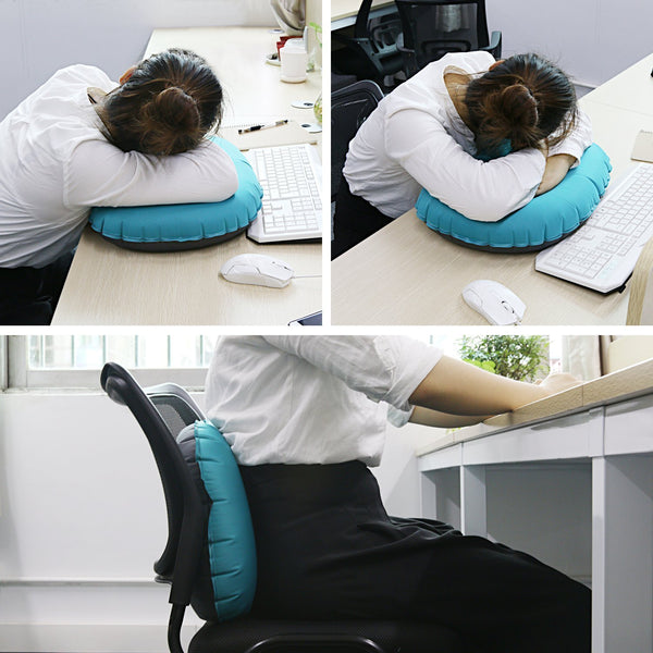 Inflatable Pillow - Green