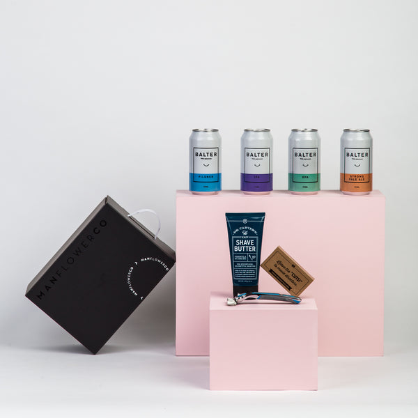 Dollar Shave Club X Manflower Co Father's Day Gift