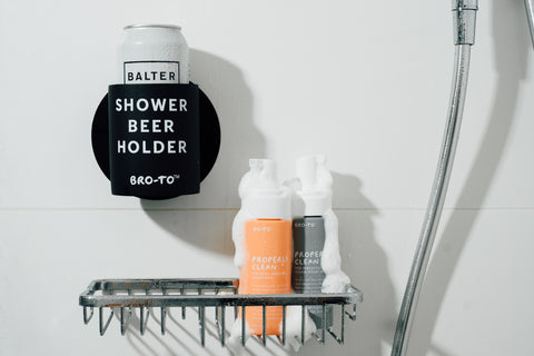 Man-Shower Essentials giveaway including Go-To Properly Clean for her.