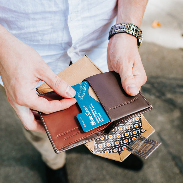 Manflower Co Bellroy Wallet Craft Beer Gift