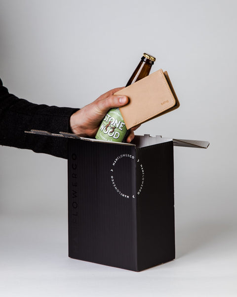 Bellroy 'The Low' Wallet + Beer