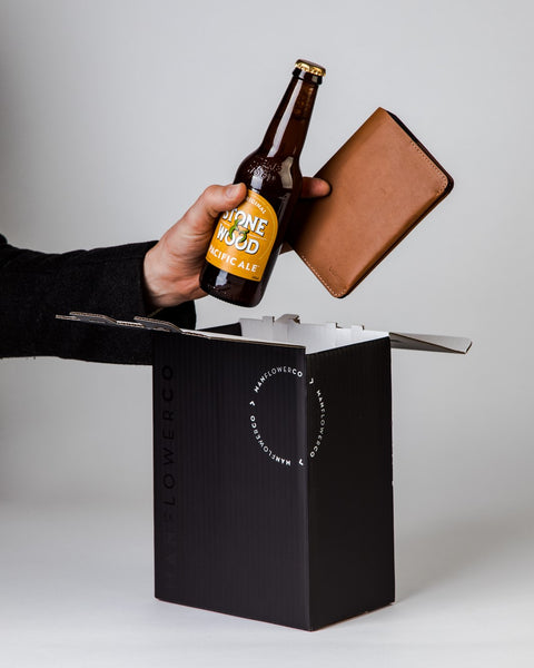 Bellroy Notebook Cover + Beer