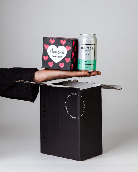 Happy Socks 'I love you' Gift Box + Beers